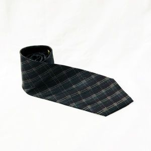 Windsor Lotte Original Tie Silk Plaid Skinny Retro